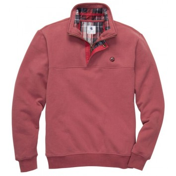 Thomas Pullover - Rust Red